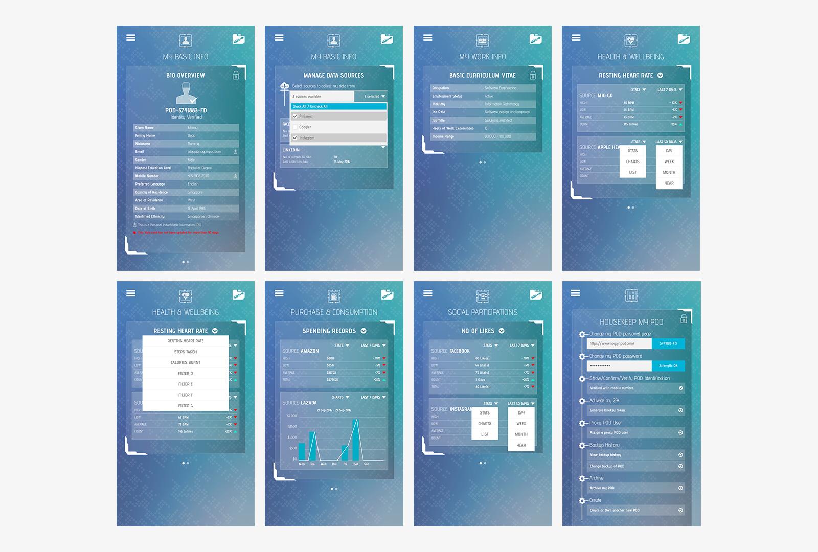 Singapore Mobile App Design